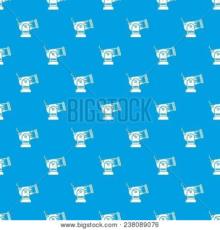 Cannon Pattern Vector Seamless Blue Repeat For Any Use