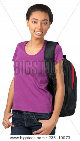 Teenager Student African Woman Female Girl Teenage