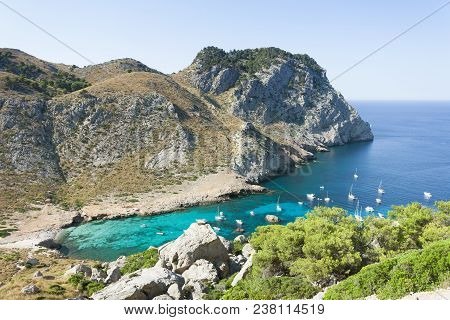 Cala Figuera De Formentor, Mallorca, Spain - Visiting One Of The Most Beautiful Bays Of Mallorca