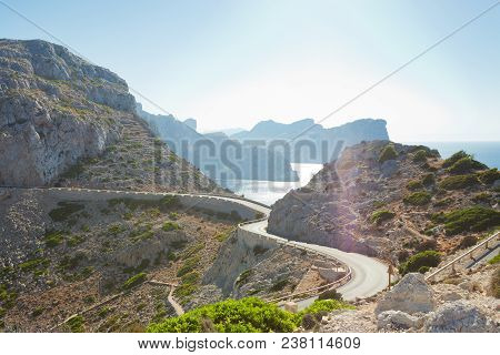 Cap De Formentor, Mallorca, Spain - Country Road To Cap De Formentor