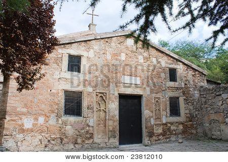 Ancient Armenian Orthodox St. Sergiy Church In Feodosia, Crimea, Ukraine, Was Built In 1330