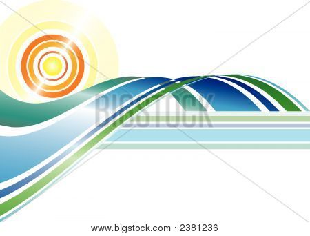 Abstract Summer (Replacing: 1835442)