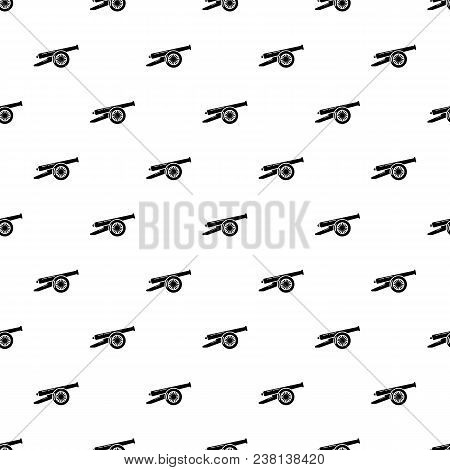 Enemy Cannon Pattern Vector Seamless Repeating For Any Web Design