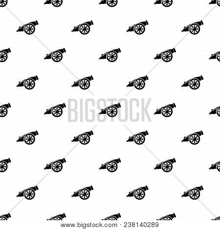 Artillery Cannon Pattern Vector Seamless Repeating For Any Web Design