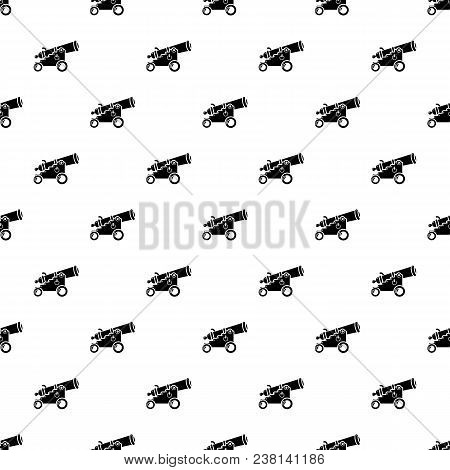 Menacing Cannon Pattern Vector Seamless Repeating For Any Web Design