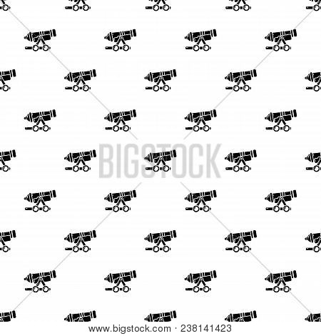 Coastal Cannon Pattern Vector Seamless Repeating For Any Web Design
