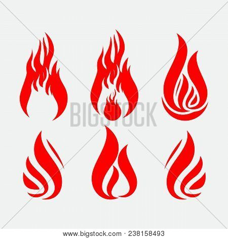 Collection Fire Icons, Vector Fire, Fire Icon Eps10. Fire Icon Flat, Fire Icon App