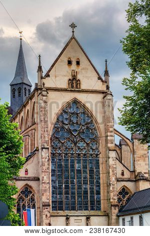 The Altenberger Dom Is Also Called Bergischer Dom And Is A Listed Monastery Church In Germany.