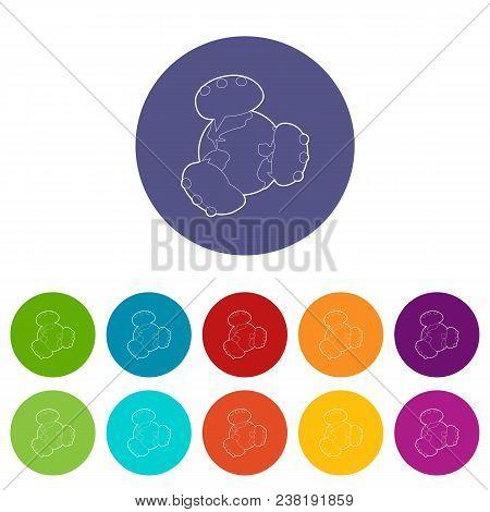 Global Communication Icon. Isometric 3d Illustration Of Global Communication Vector Icon For Web
