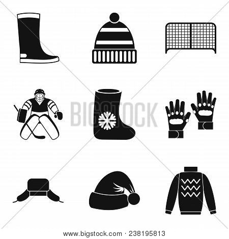 Freeze Over Icons Set. Simple Set Of 9 Freeze Over Vector Icons For Web Isolated On White Background