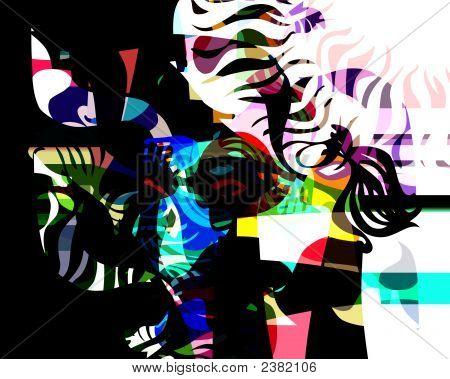 Abstract Dreaming Life