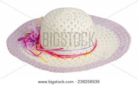 Woman  Hat Isolated On White Background
