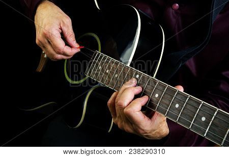 Playing Acoustic Image & Photo (Free Trial) | Bigstock