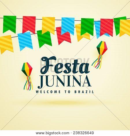 Holiday Background Of Brazil Festa Junina Festival