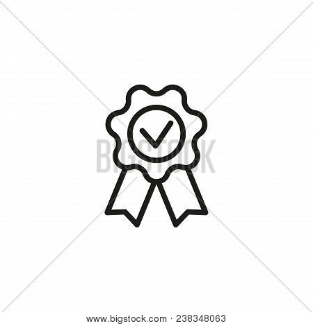 Icon Of Award Of Honour. Winner, Prize, Quality. Achievement Concept. Can Be Used For Topics Like Me