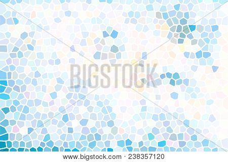 Colorful Pastel Mosaic Background. Vector Modern Background For Posters, Brochures, Sites, Web, Card