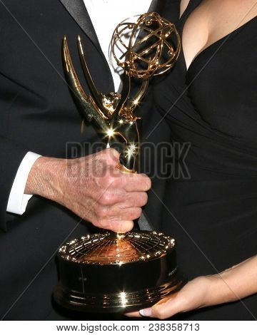 LOS ANGELES - APR 27:  Emmy Award at the 2018 Daytime Emmy Awards - Creative at Pasadena Civic Auditorium on April 27, 2018 in Pasadena, CA