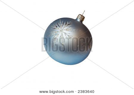 Silver Christmas Tree Ball