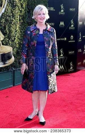 LOS ANGELES - APR 27:  Mary Beth Evans at the 2018 Daytime Emmy Awards - Creative at Pasadena Civic Auditorium on April 27, 2018 in Pasadena, CA