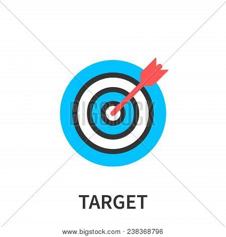 Target Market Concept Icon, Audience, Focus Group, Crowdsourcing And Crowdfunding, Public Relations,