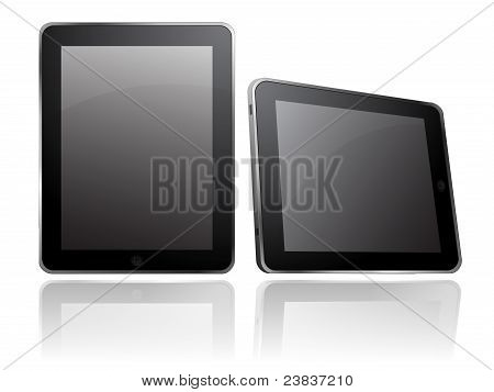 apple ipad table computer isolated