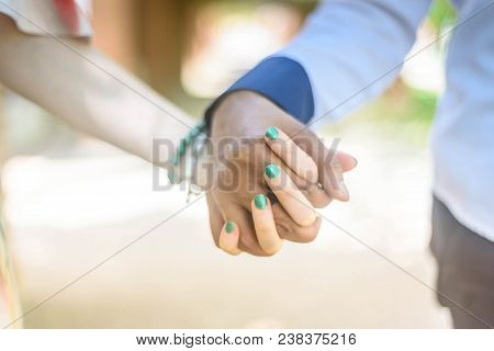 Young Couple In Love Outdoor.stunning Sensual Outdoor Portrait Of Young Stylish Fashion Couple. Summ