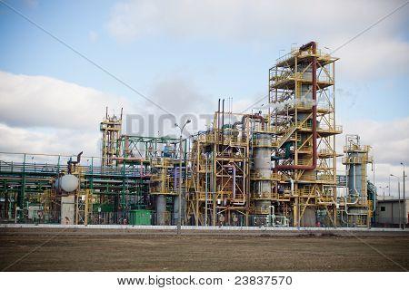 Nitrogen Chemical Plant In Poland