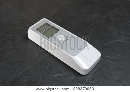 Device for measuring the degree of intoxication... poster