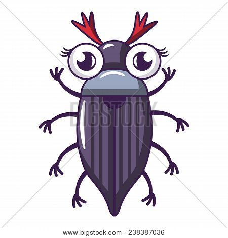 May Bug Icon. Cartoon Illustration Of May Bug Vector Icon For Web
