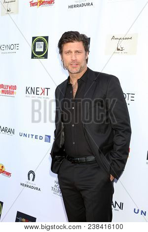 LOS ANGELES - APR 25:  Greg Vaughn at the NATAS Daytime Emmy Nominees Reception at Hollywood Museum on April 25, 2018 in Los Angeles, CA