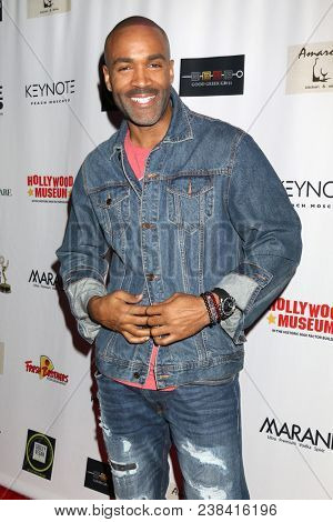 LOS ANGELES - APR 25:  Donnell Turner at the NATAS Daytime Emmy Nominees Reception at Hollywood Museum on April 25, 2018 in Los Angeles, CA
