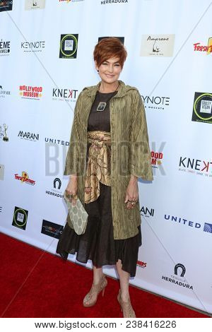 LOS ANGELES - APR 25:  Carolyn Hennesy at the NATAS Daytime Emmy Nominees Reception at Hollywood Museum on April 25, 2018 in Los Angeles, CA