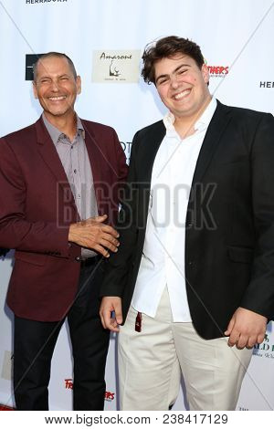 LOS ANGELES - APR 25:  Thomas Calabro, Luca Calabro at the NATAS Daytime Emmy Nominees Reception at Hollywood Museum on April 25, 2018 in Los Angeles, CA