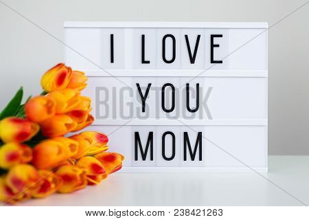 Mother's Day - Lightbox With Words