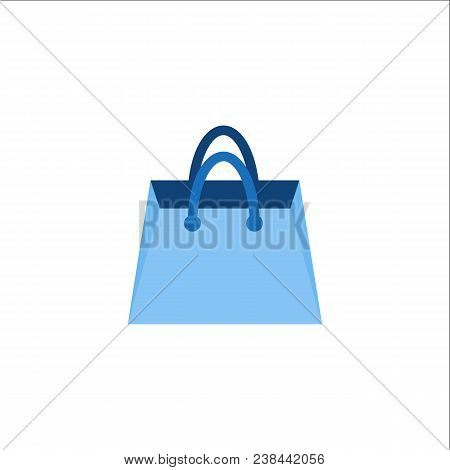 Shopping Bag Icon. Bag Symbol. Travel Bag Icon. Bag Logo. Vector Logo Template Ready For Use