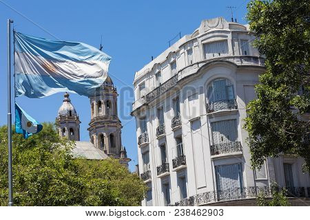 Buenos Aires, Argentina -  January 30, 2018: Touristic Destination In Buenos Aires, Argentina