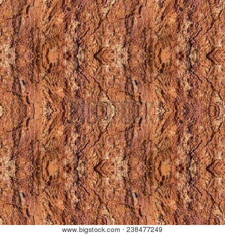 Abstract Seamless Pattern For Designers With Fragments Of Wooden Barque