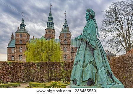 Rosenborg Castle Is A Renaissance Castle Located In Copenhagen, Denmark. The Castle Was Originally B