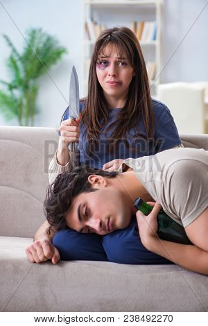 Desperate wife attempting to kill husband
