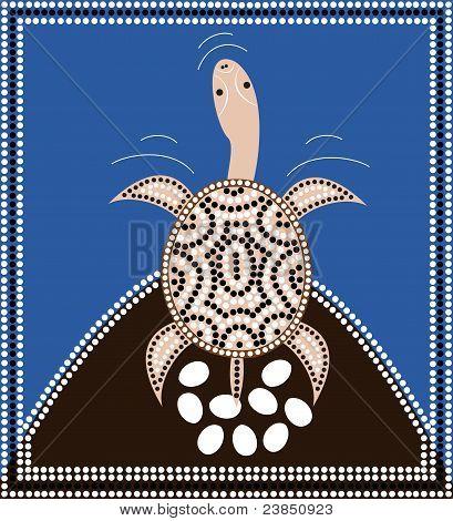 Dreamtime - Longneck Turtle