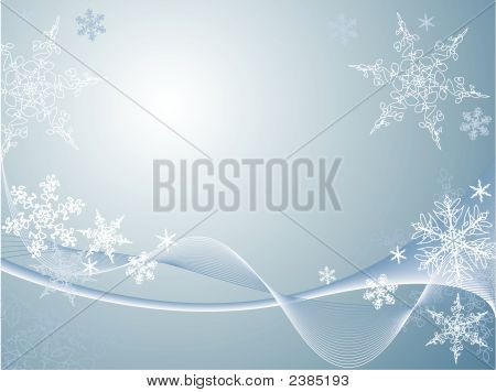 Snowflake Background.Eps