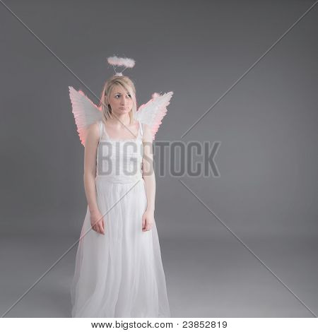 Sad Female Angel