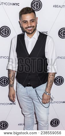 New York, Ny, Usa - April 21, 2018: Michael Costello Attends Beautycon Festival Nyc 2018 At Jacob K.