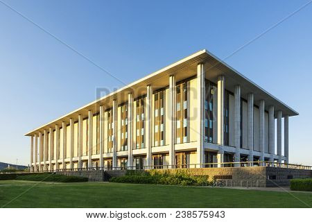 4 January 2007: Canberra, Australia - National Library Of Australia, Canberra, Australia. It Is The