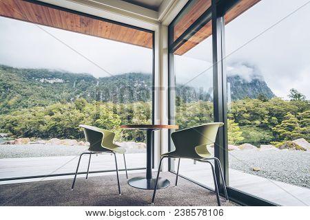 Living Room Or Restaurant Interior Design