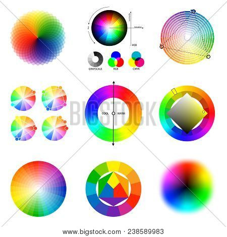 Perfect Matching Beautiful Color Gradients And Harmonious Combinations Generation Principles  Circle