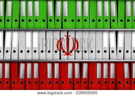 Tel Aviv, Israel, 30 April 2018 - 3d Rendering For Israel Revealing 100 000 Iranian Files On Secret