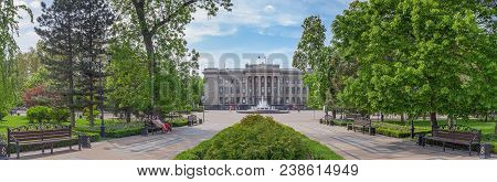 Krasnodar, Russia - May 3, 2017: The Building Of The Legislative Assembly.