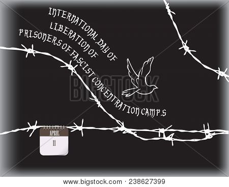 Poster for International day of liberation of prisoners of fascist concentration camps poster