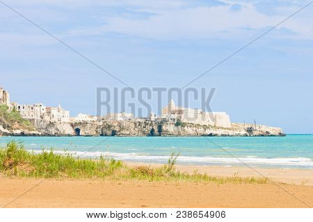 Vieste, Italy, Europe - Old Fortress And Church Of Vieste